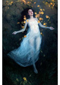 Jeremy Lipking painting Untitled Dark Water Exhibition