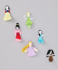 Take a look at this Princess Clip Set by The Hair Candy Store on #zulily today! #fall
