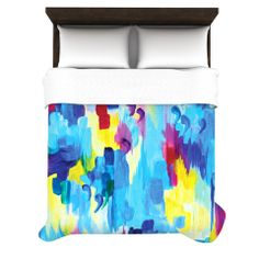 "Ebi Emporium ""Don't Quote Me, Revisited"" Fleece Duvet Cover 