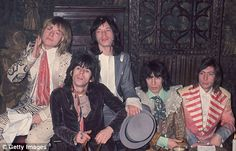 On  7-10 in 1969: The Rolling Stones founding member, Brian Jones, is laid to rest at Hatherley Road Parish Church in his hometown of Cheltenham, Gloucestershire, England, after drowning  in a swimming pool a few days earlier. Brian is buried 12 feet in the ground so as to discourage trophy-seeking fans. Charlie Watts and Bill Wyman attend but Mick and Keith are not there so as not to make the funeral more crazed than Brian's family wanted.
