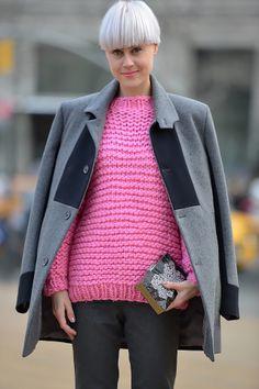 Неделя моды в Нью-Йорке: street style. Часть III (фото 4)