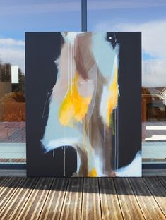 'Energy' 120x150 Acrylics on canvas