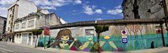 DERRUBANDO MUROS CON PINTURA  #derrubandomurosconpintura #streetart #nana #nanakonene #mural #muralart #illustration #graffiti