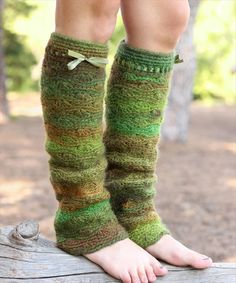 Wilderness Leg Warmers- 20 DIY Crochet Leg Warmer Ideas For Girls | DIY to Make
