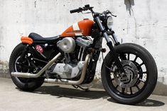 Harley Nightster, Harley Scrambler, Harley Davidson Sportster 1200, Custom Sportster, Harley Davidson Street, Custom Motorcycles, Custom Bikes, Harley Bikes, Bobber Chopper