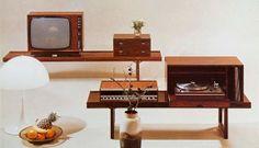 Krobo flerbruksbenk fra Bruksbo. Vintage design av Torbjørn Afdal