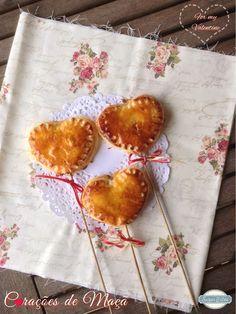 Sugar Bites: Corações de Maçã