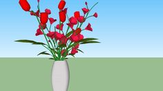 Large preview of 3D Model of Flowers
