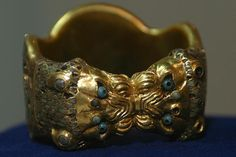 Assyrian Golden Rings from Nimrud 8th c. B.C.