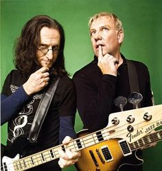 Geddy and Alex. Still goofy and full of joy. Music is still damn good, so: be as goofy as you like, guys!