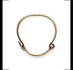 Constance gold necklace, $670acnestudios.com