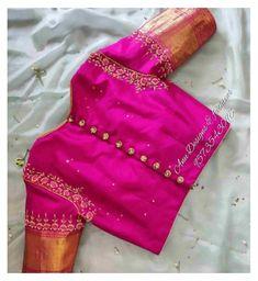Cutwork Blouse Designs, Kids Blouse Designs, Wedding Saree Blouse Designs, Hand Work Blouse Design, Simple Blouse Designs, Latest Saree Blouse Designs, Indian Blouse Designs, Pattu Saree Blouse Designs, Stylish Blouse Design