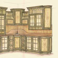 Кухня прованс. Фасады с рисунком, два цвета покраски. Разноуровневая высота кухни . Столешница искусственный камень, очень интересный вариант для загородного дома или дачи. Конфигурацию можно придумать под ваши размеры! По вопросам изготовления или сотрудничества 066-363-29-29, 067-958-98-79 #дизайнмебели. #дизайнмебелизапорожье. #проектированиемебели. #мебельзапорожье #мебелькиев. #кухниукраина. #кухнизапорожье #дизайнкухни. #мебельназаказ #кухниназаказ