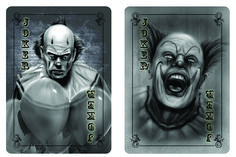 Bicycle Classic Monsters Playing Cards by Classics Playing Cards — Kickstarter Creepy Carnival, Vintage Playing Cards, Classic Monsters, Horror Art, Futuristic, Bicycle, Jokers, Display, Inspiration