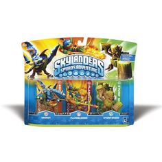 Skylanders Spyro's Adventure Adventure Pack [Drobot, Flameslinger, Stump Smash]