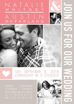 True Standout Photo Wedding Invitations | Invitations by David's Bridal Enter the David's Bridal PINvitation Sweepstakes for a chance to win $1,000 to spend on Invitations by David's Bridal! http://cur.lt/1SVuDiv Sweepstakes ends May 20, 2016. [Promoted Pin]