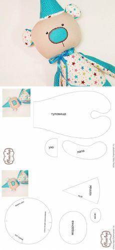 taller de video: cómo coser textil + oso patrón - Master Fair - hecho a mano, hecho a mano
