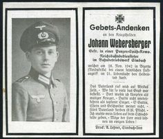 orig. WK2 STERBEBILD - DEATH CARD - AFRIKA KORPS - Panzer Späh Kp Bizerta 1942