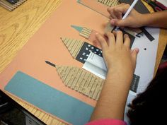 Creating Art: Cityscape Collages-5th grade