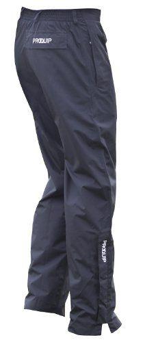 UK Golf Gear - Pro Quip Men's Aquastorm Waterproof Trouser Fly-Zip