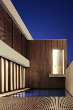 Modern House / Home + Wood