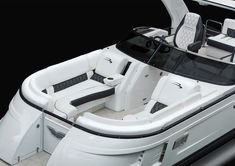 luxury performance pontoon boats with refined, unparalleled elegance. Whether you want to sunset cruise or carve a wake, the QX delivers a powerful choice of performance packages. Find features and furniture layouts for the Bennington QX Model. New Pontoon Boats, Deck Boats, Sales Representative, New Class, Boats For Sale, Furniture Layout, Lake Life, Pontoons, Model