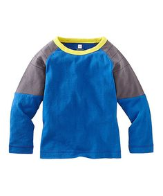 Loving this Royal Color Block Moto Tee - Infant & Boys on #zulily! #zulilyfinds