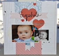A Project by Sarahak from our Scrapbooking Gallery originally submitted 03/05/13 at 08:25 AM
