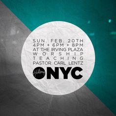 Hillsong NYC Church Logo, Rock Of Ages, Information Design, East Coast, Awakening, Worship, Nyc, Photoshop, Graphics