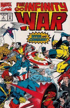 INFINITY WAR # 2  MARVEL COMICS  1992  nm