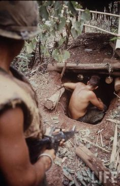 Vietnam Tunnel Rats. Whenever troops would uncover a tunnel, tunnel rats were sent in to kill any hiding enemy soldiers and to plant explosives to destroy the tunnels. A tunnel rat was equipped with only a standard issue .45 caliber pistol, a bayonet and a flashlight, although most tunnel rats were allowed to choose another pistol with which to arm themselves. The tunnels were very dangerous, with numerous booby traps and enemies lying in wait.