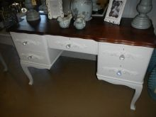 Techniqued Vintage Imbuia Dressing table DRE 023 R3900