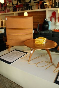 Blonde Furniture Event June 2012 by mod livin mid century retro modern furniture store, via Flickr
