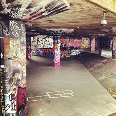 South Bank Skate Park. Featured on the Best LDN Walks Instagram Walking tour, based on the top 50 hasthtags.  #London #SkatePark #PhotoWalks