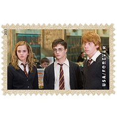 Well, obviously Harry Potter forever stamps are necessary. Always.