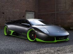 Sweet green and black lambo