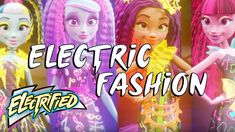 """""""Electric Fashion"""" Official Lyric Music Video   Electrified   Monster High"""