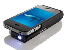 Big screen, small package: Brookstone's Pocket Projector for iPhone 4 - CNET #Technology