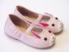 Bloch Lapin pink patent leather rabbit #balletshoes for girls #Ilkley #IndependentShops #girlsshoes