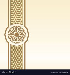 Islamic Border Background And Greeting With Pattern Illustration Vector Vector and PNG Islamic Background Vector, Background Patterns, Backdrop Background, Background Templates, Islamic Art Pattern, Arabic Pattern, Illustration Vector, Pattern Illustration, Vector Pattern