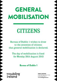irish protest posters images 1913 - Google Search