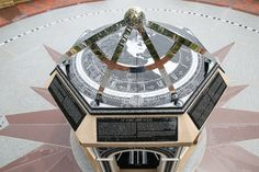 TCU's sundial is a large precision instrument with no moving parts, relying instead on the movements of the Earth around the Sun.