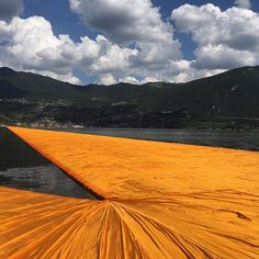 Looking forward to a beautiful day out on the piers tomorrow. #thefloatingpiers