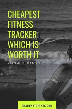 The Xiaomi Mi Band 3 is a waterproof fitness tracker with wrist-based heart rate monitoring, sleep tracking, sports tracking, and smart notifications. Waterproof Fitness Tracker, Rem Sleep, Wearable Device, Fitbit Charge, Heart Rate, How To Fall Asleep, Smart Watch, Band, Sports