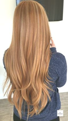 Ginger Blonde Hair, Ginger Hair Color, Strawberry Blonde Hair Color, Blonde Hair With Highlights, Stawberry Blonde, Straight Hairstyles, Prom Hairstyles, Dyed Hair, Hair Makeup