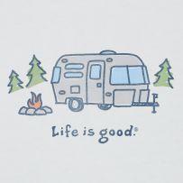 Cozy camper.