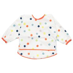 IKEA KLADDIG Bib Multicolour A soft bib that your child can wear comfortably for many years, thanks to the adjustable neck, practical hook-and-loop fastening and long sleeves with elastic. Baby Outfits, Kids Outfits, Nursery Furniture Sets, Baby Furniture, Nursery Ideas, Children Furniture, Deck Furniture, Project Nursery, Articles Pour Enfants