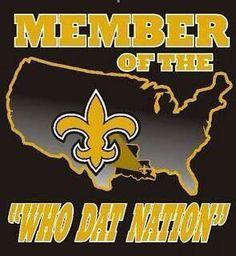 Who Dat!, New Orleans Saints