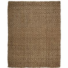 Anji Mountain Donny Osmond Home Perfect Diamond Jute Rug