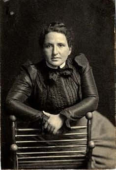 """Gertrude Stein. 1903. """"It is inevitable when one has a great need of something, one finds it. What you need you attract like a lover."""""""